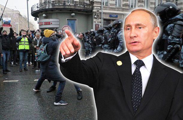 """Pe cine acuză Vladimir Putin după protestele din weekend din Rusia. Țara care """"le dă instrucțiuni"""" manifestanților"""