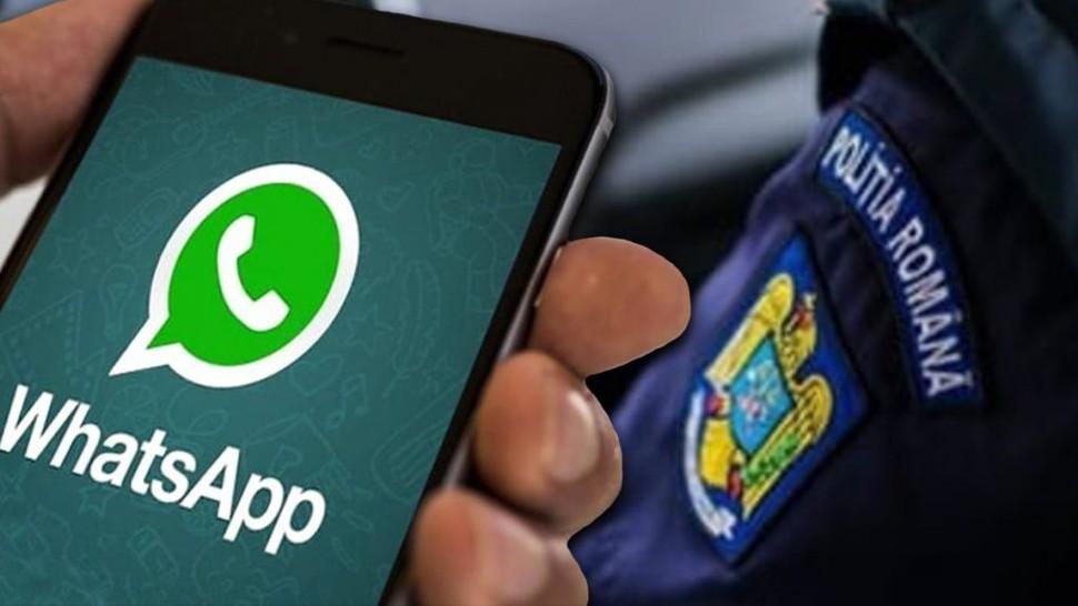 Probleme grave pentru polițiști după ce au folosit Whatsapp ca mijloc de informare. Ce li se poate întâmpla